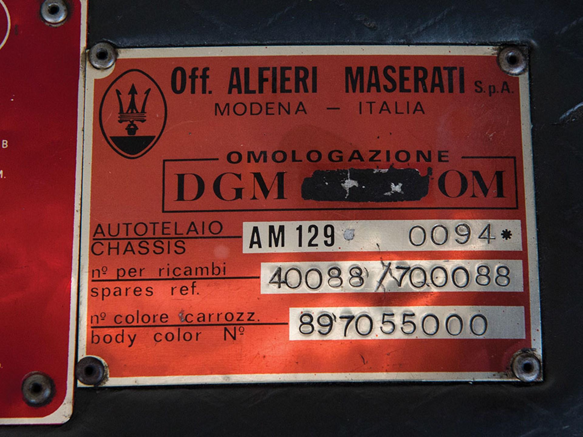 RM Sotheby's - 1978 Maserati Kyalami 4900 | Duemila Ruote 2016