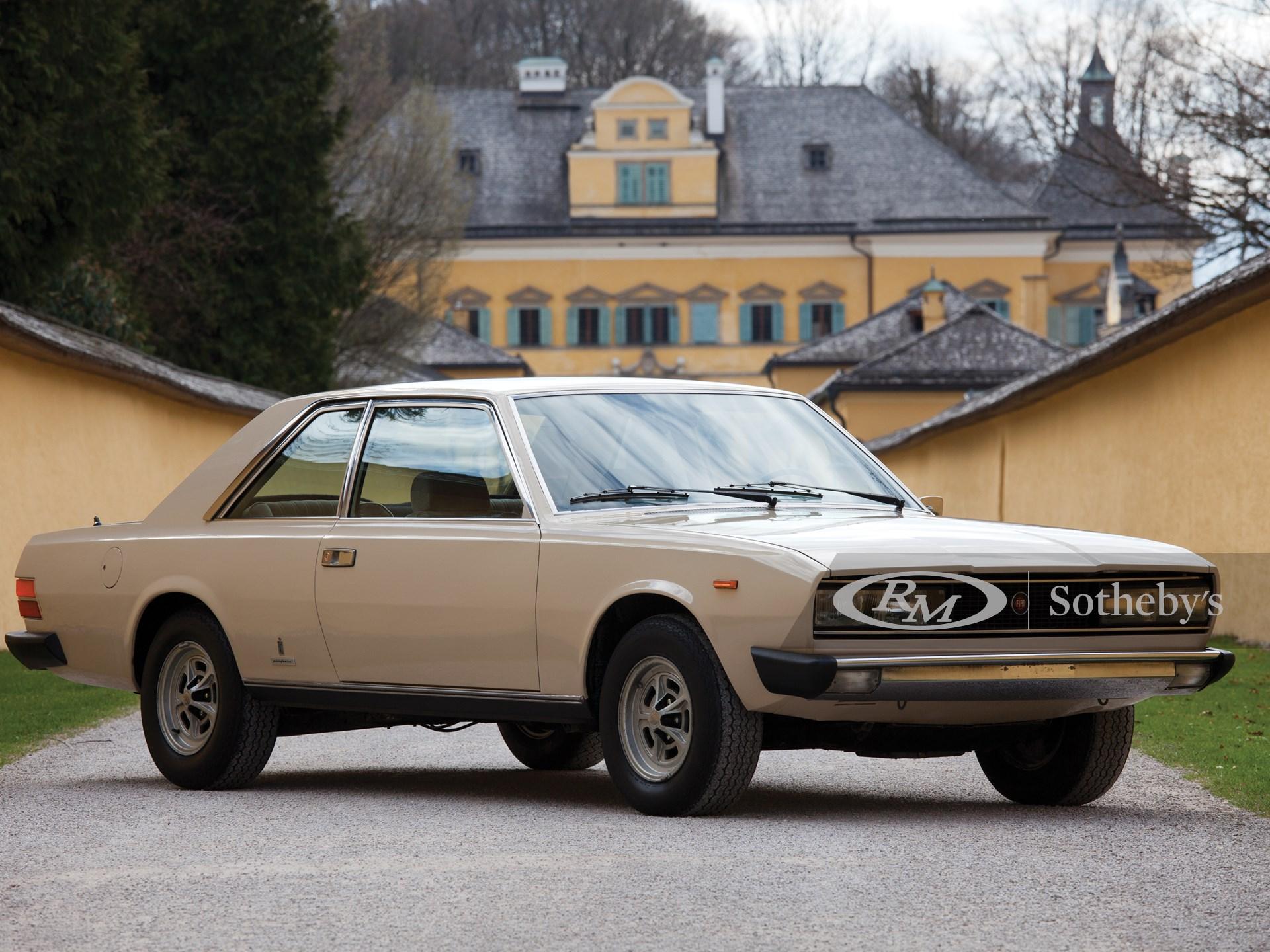 1973 Fiat 130 Coupé By Pininfarina Monaco 2014 Rm Sotheby S
