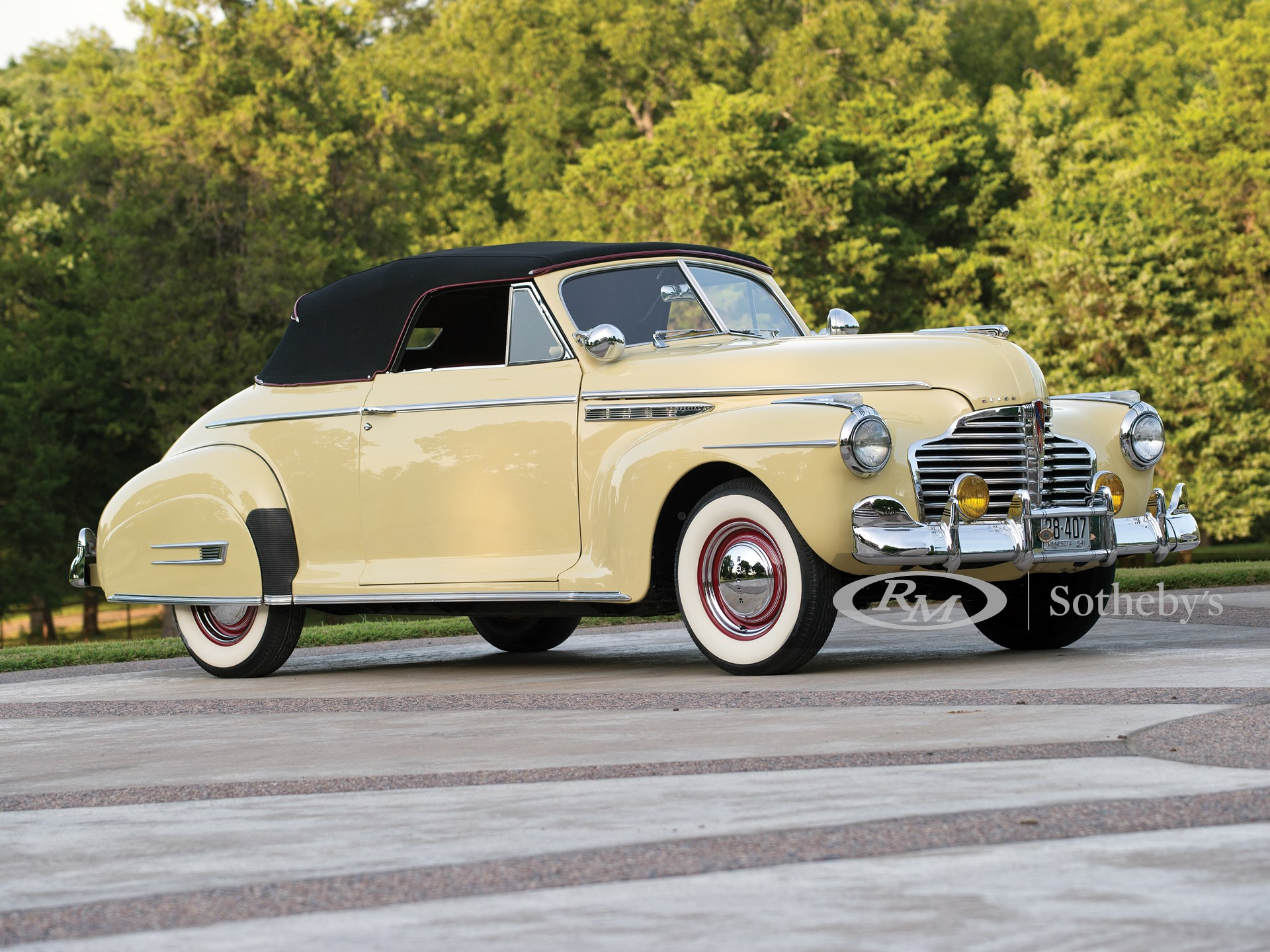 1941 Buick Special Convertible Coupe