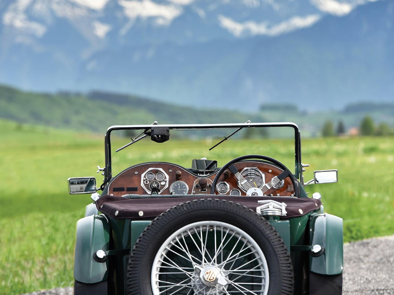 1934 MG PA/B Le Mans
