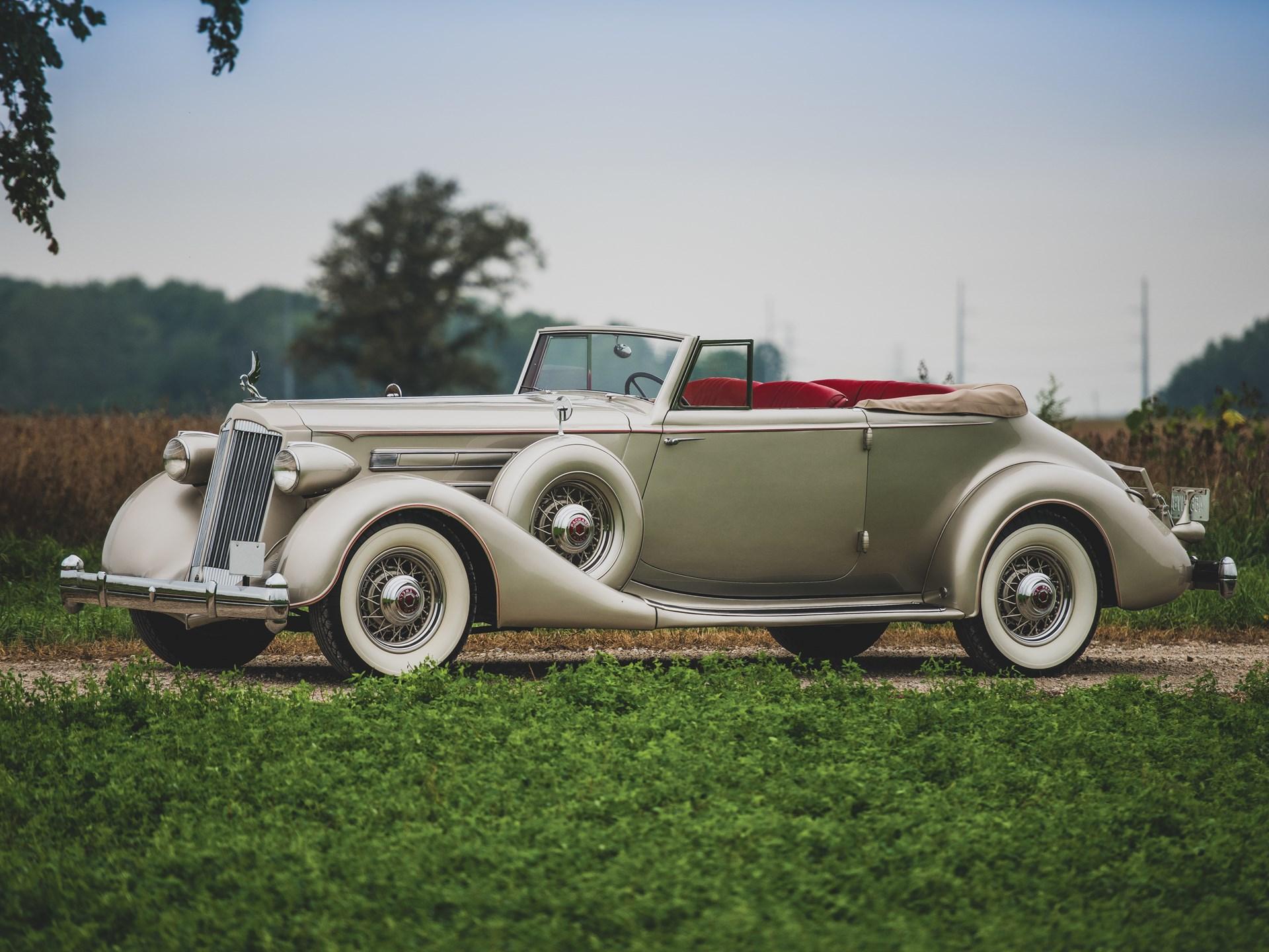 Image result for rm hershey 1936 Packard Twelve Convertible Victoria