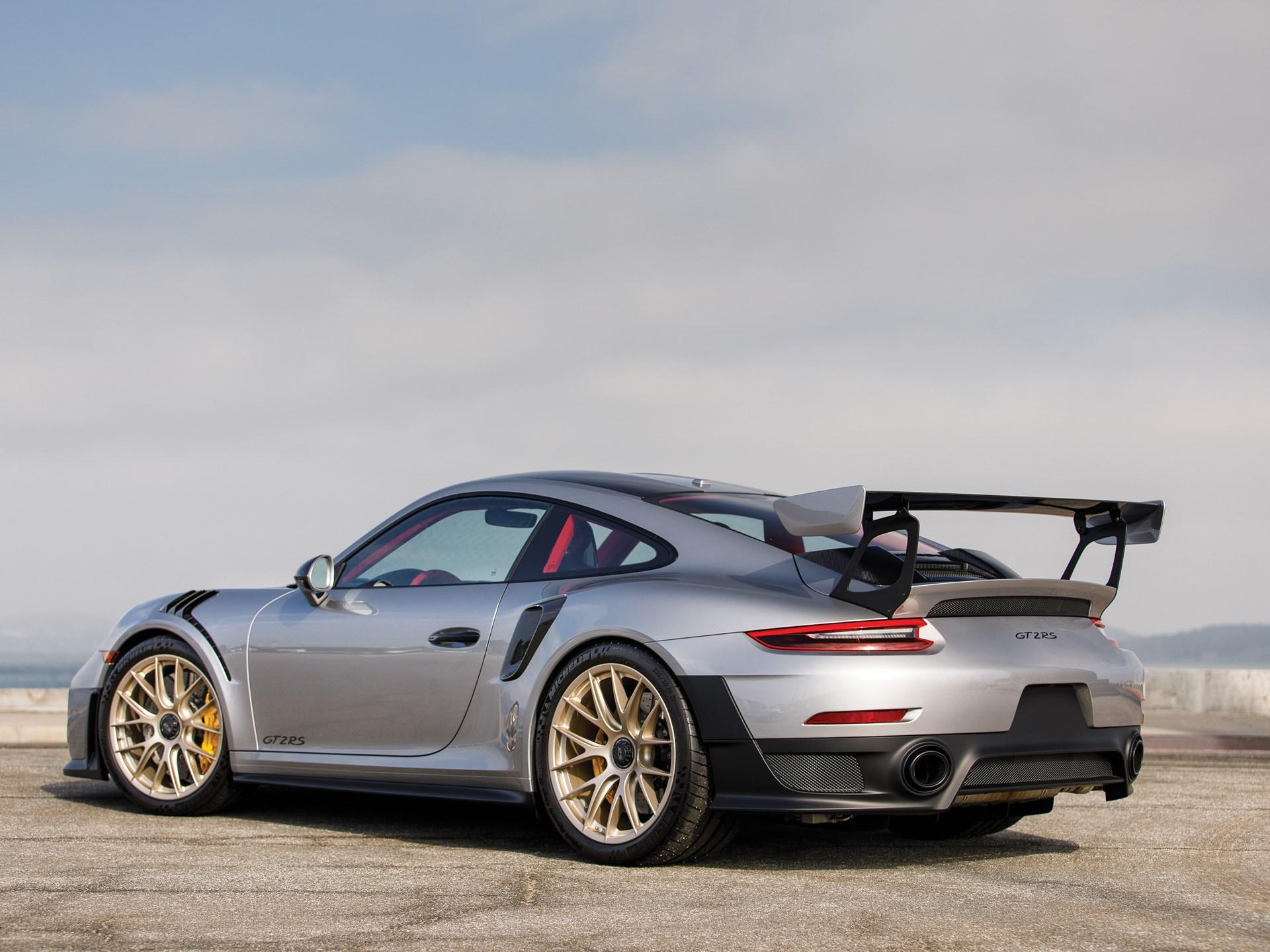 Rm Sothebys 2018 Porsche 911 Gt2 Rs Weissach Amelia