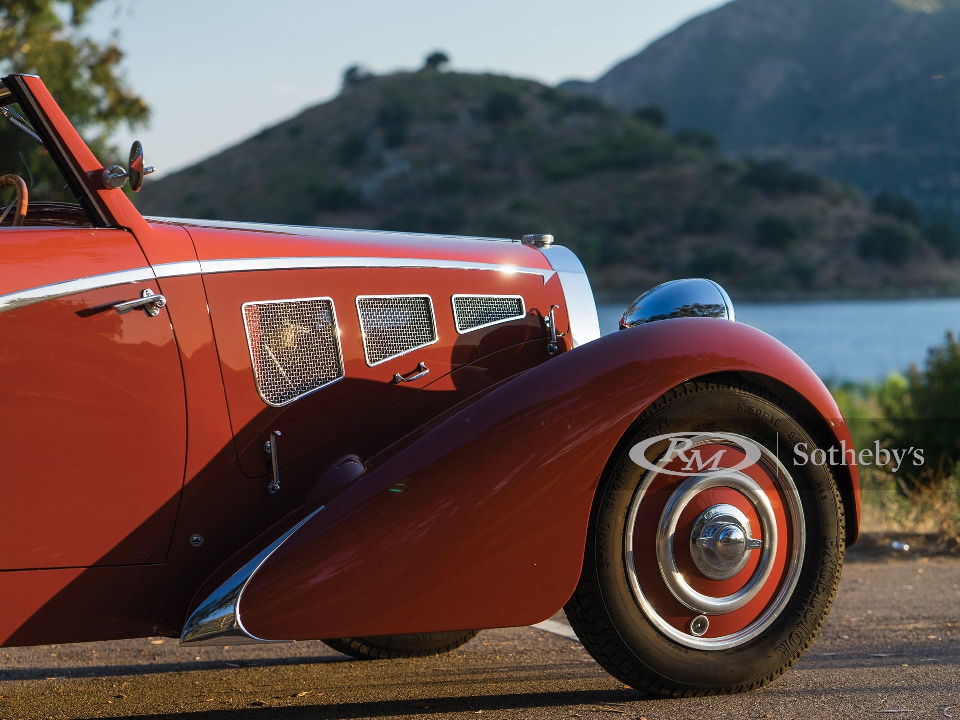 1937 Bugatti Type 57 Cabriolet  -