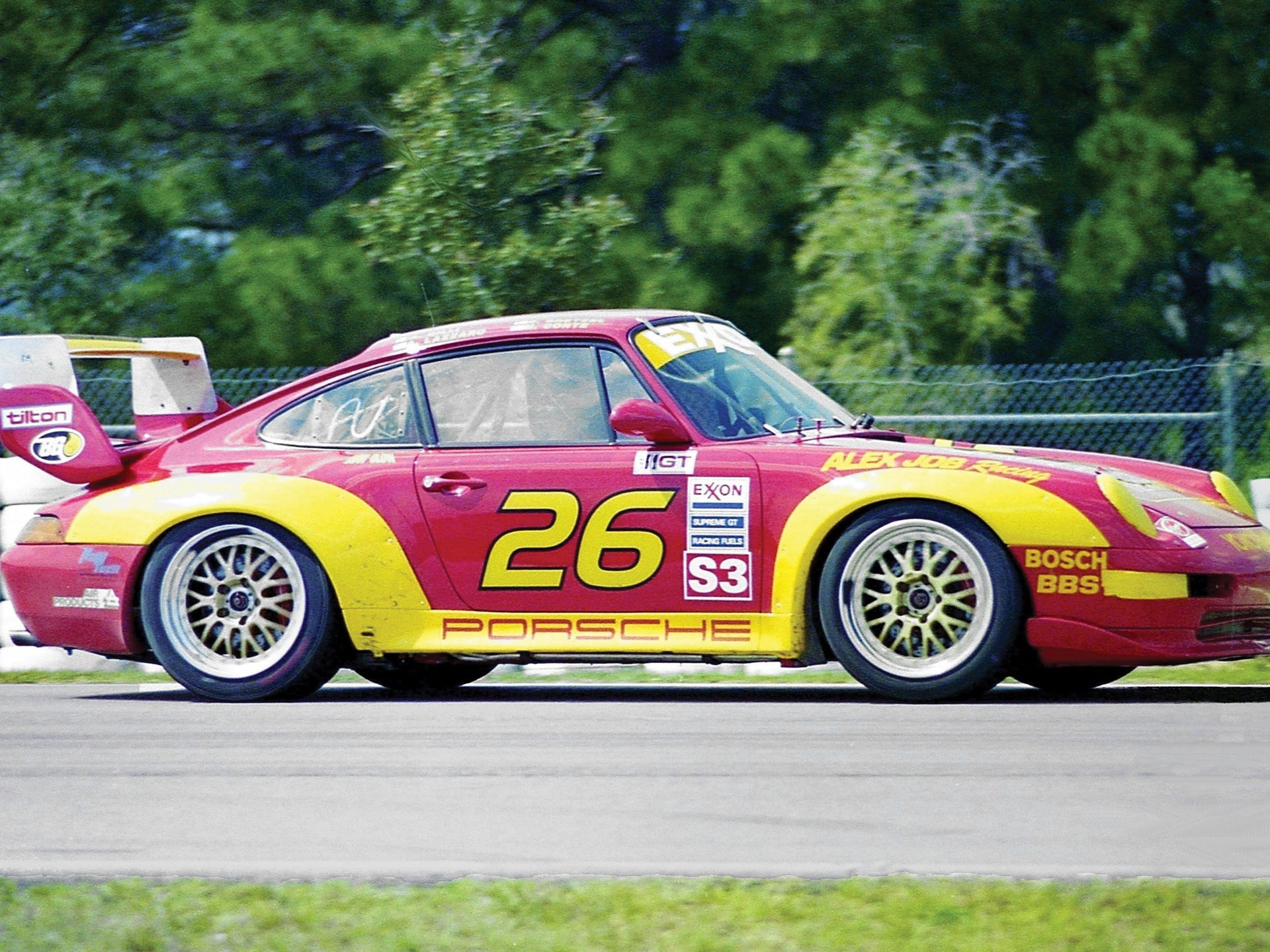 The Carrera RS as seen in 1997 at the 12 Hours of Sebring, where it finished 17th in class.