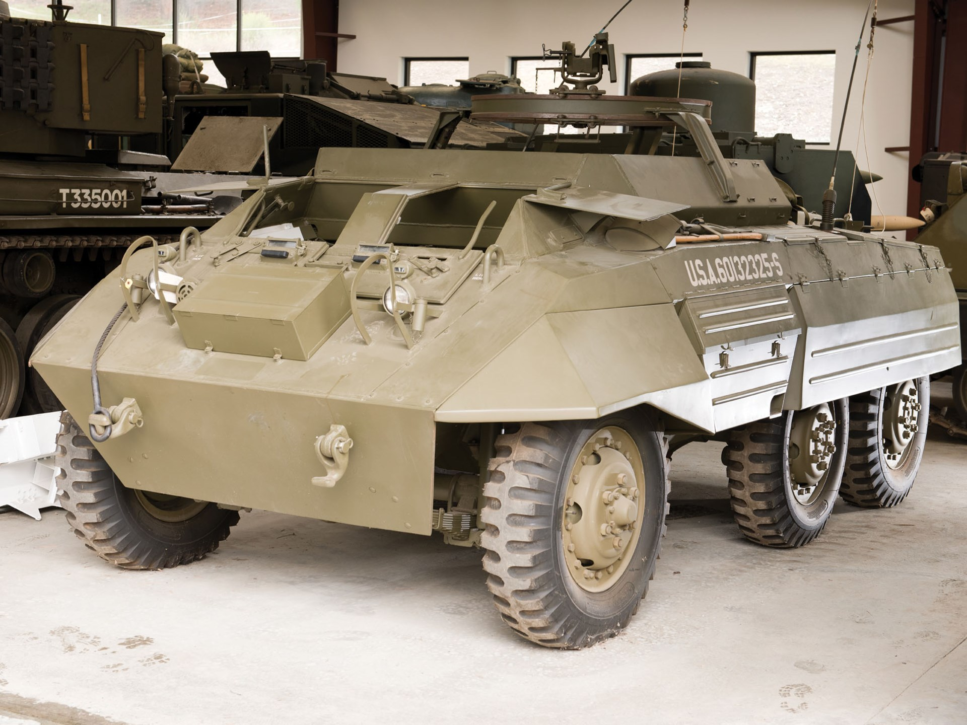 RM Sotheby's - M20 Greyhound Armored Car | The Littlefield