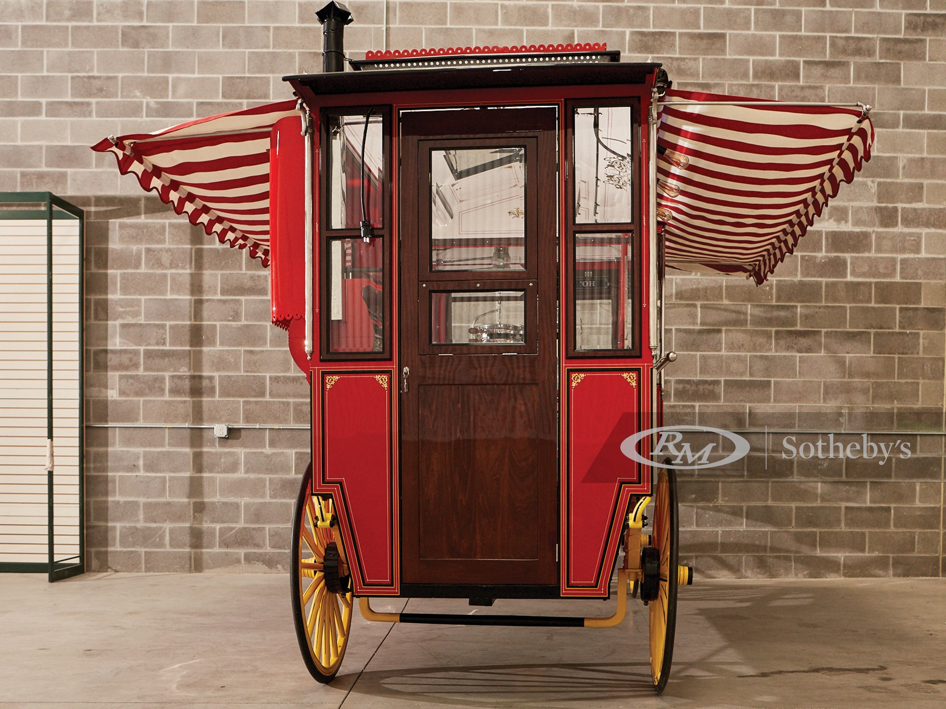 1904 Cretors Model D Popcorn Wagon  -