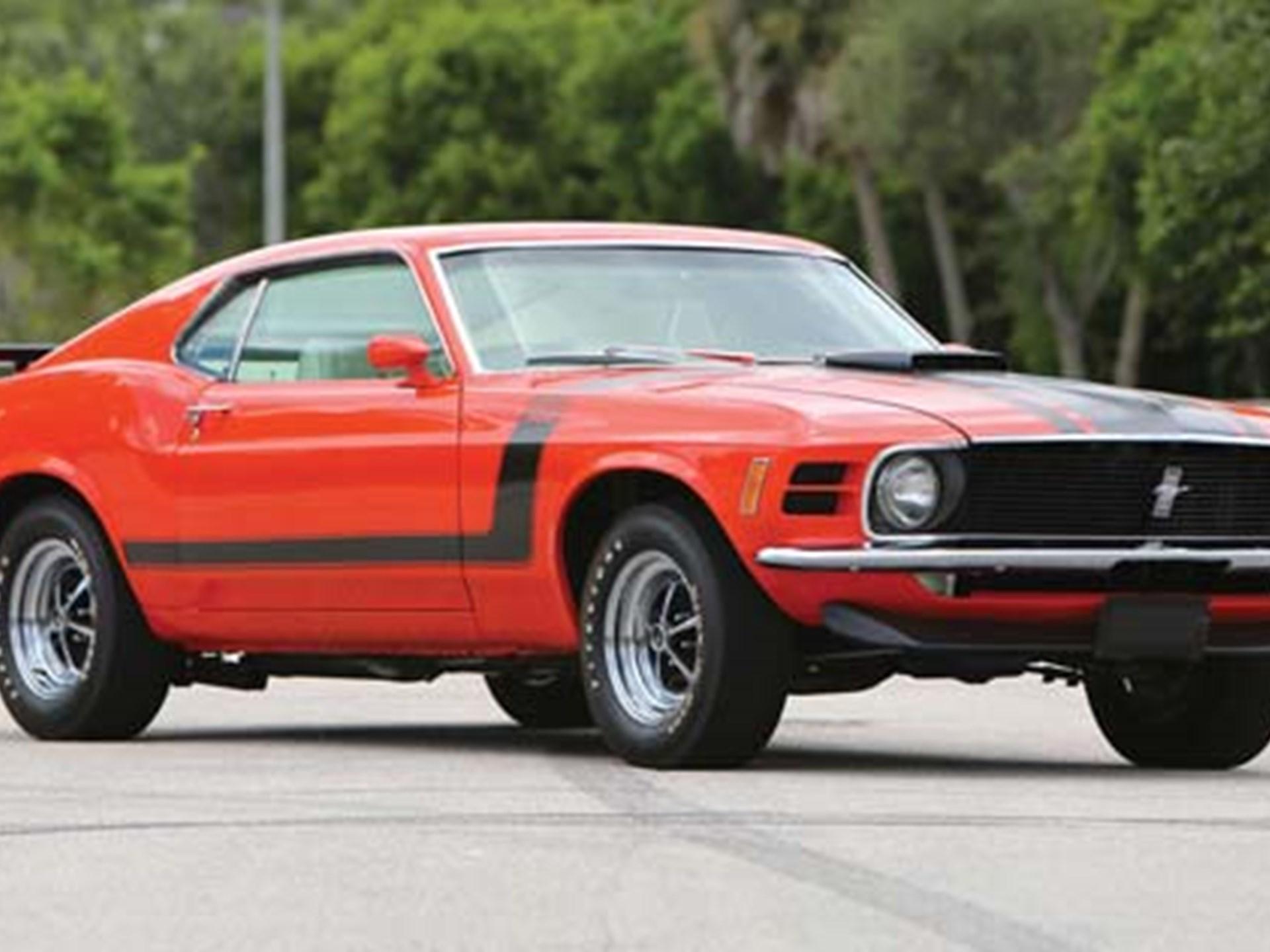 Rm Sothebys 1970 Ford Mustang Boss 302 Bidanywhere 2014