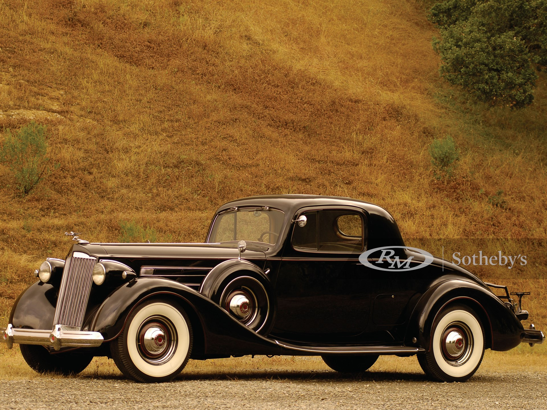 1937 Packard Twelve Rumble Seat Coupe