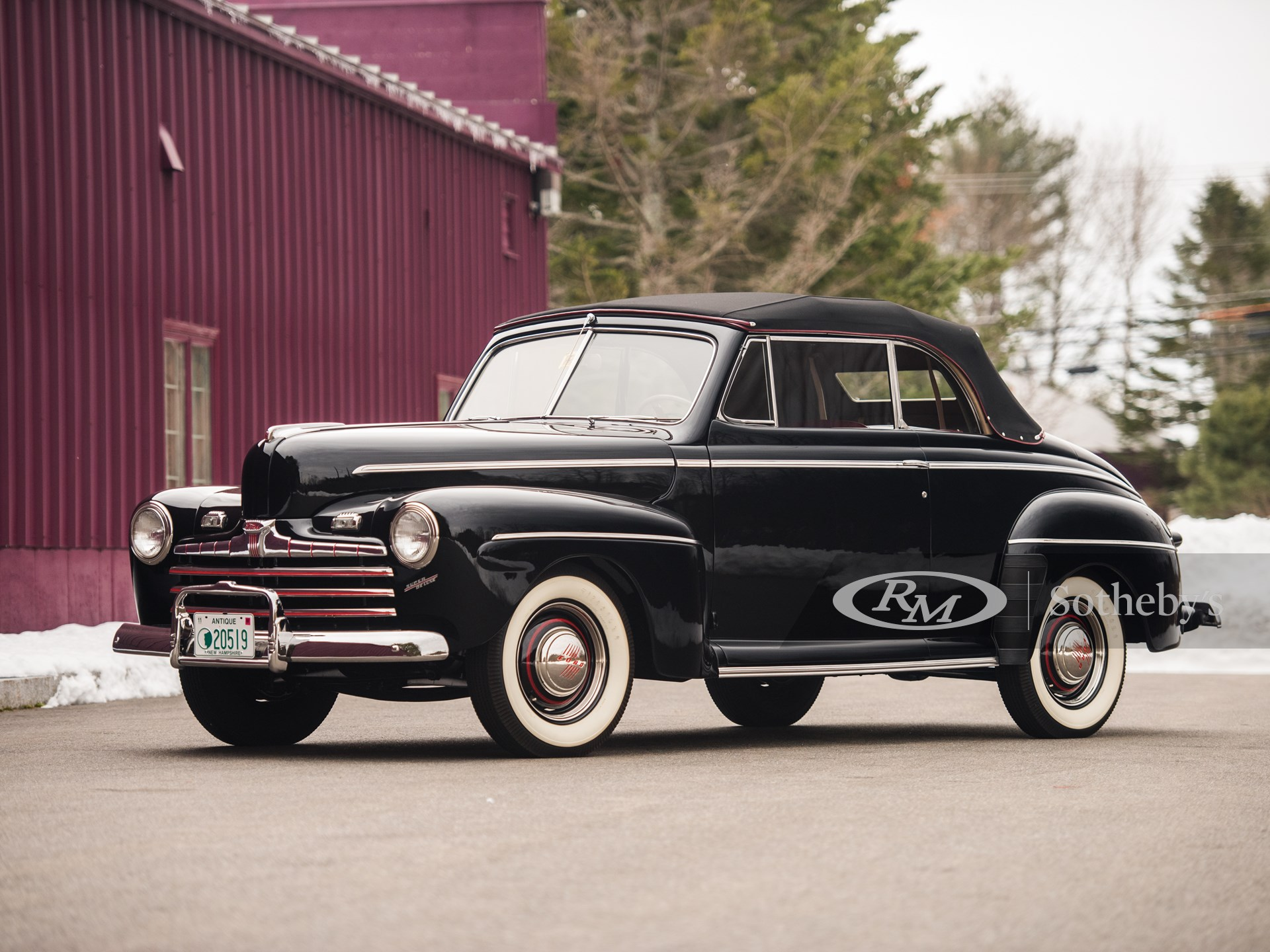 1946 Ford Super Deluxe Convertible The Dingman Collection Rm Auctions