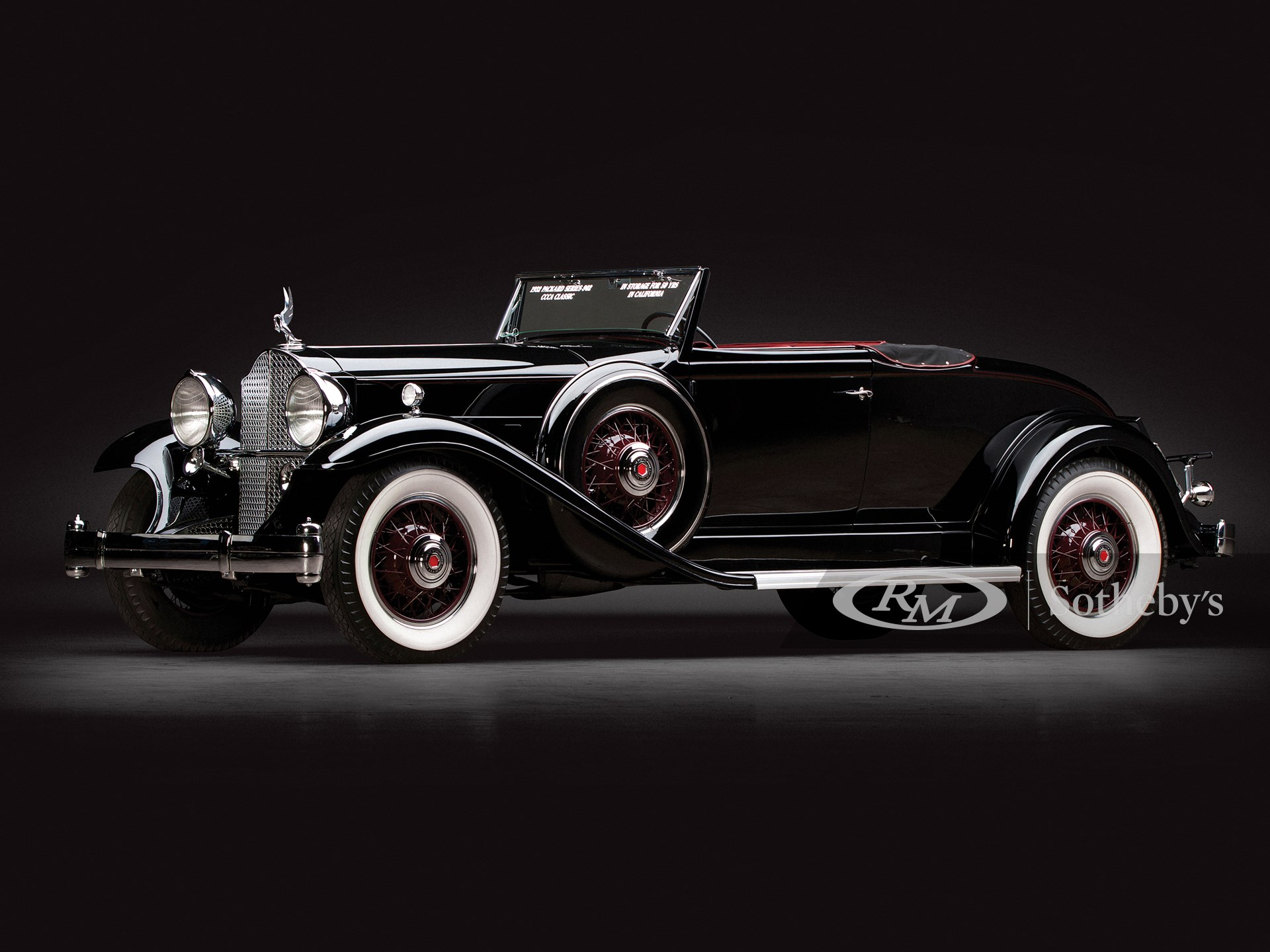 1932 Packard Eight Coupe Roadster