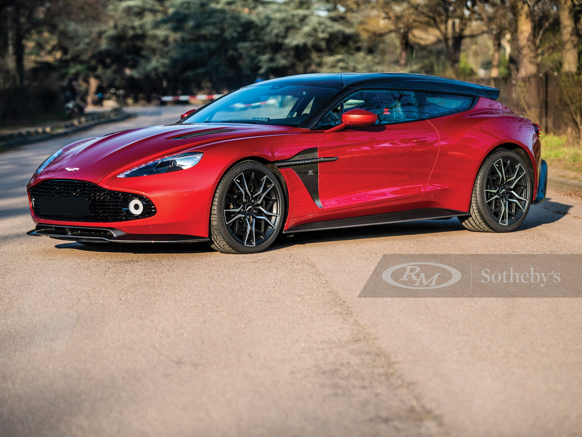 2019 Aston Martin Vanquish Zagato Shooting Brake Villa Erba 2019 Rm Sotheby S