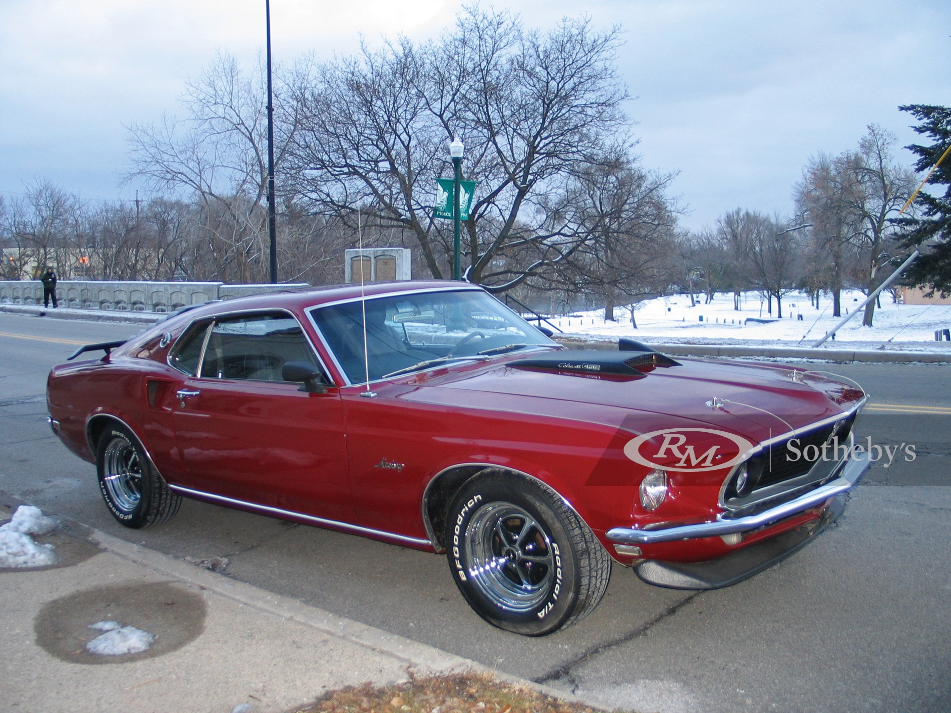 1969 Ford Mustang Mach I R Code 2D  -