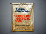 If You're Comparing…Compare Service, Too! Banner - $
