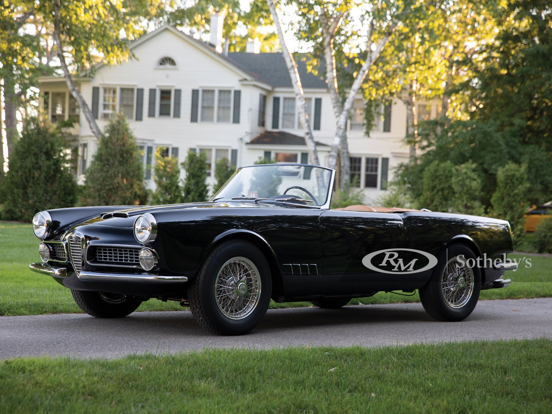 1959 Alfa Romeo 2000 Spider By Touring Monterey 2018 Rm Sotheby S