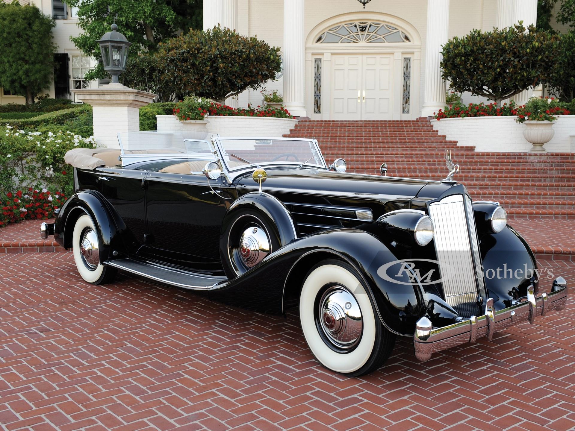 1936 Packard Twelve Dual Cowl Sport Phaeton