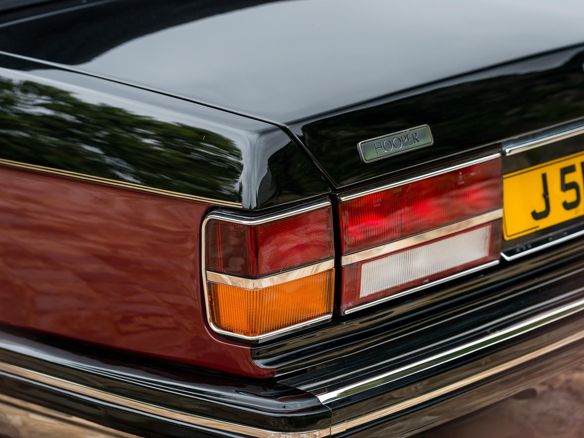 1989 Rolls-Royce Silver Spirit I Emperor State Landaulet by Hooper