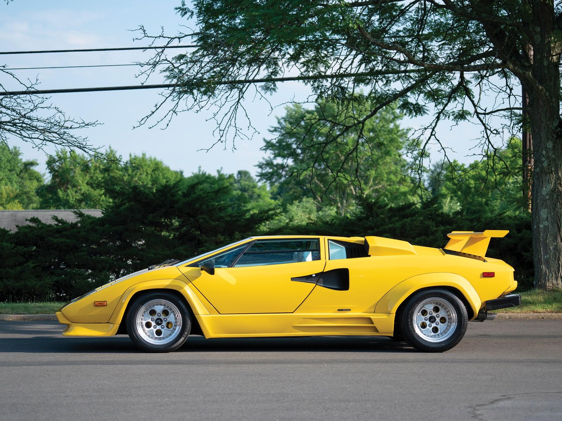 1988 Lamborghini Countach 5000 QV by Bertone