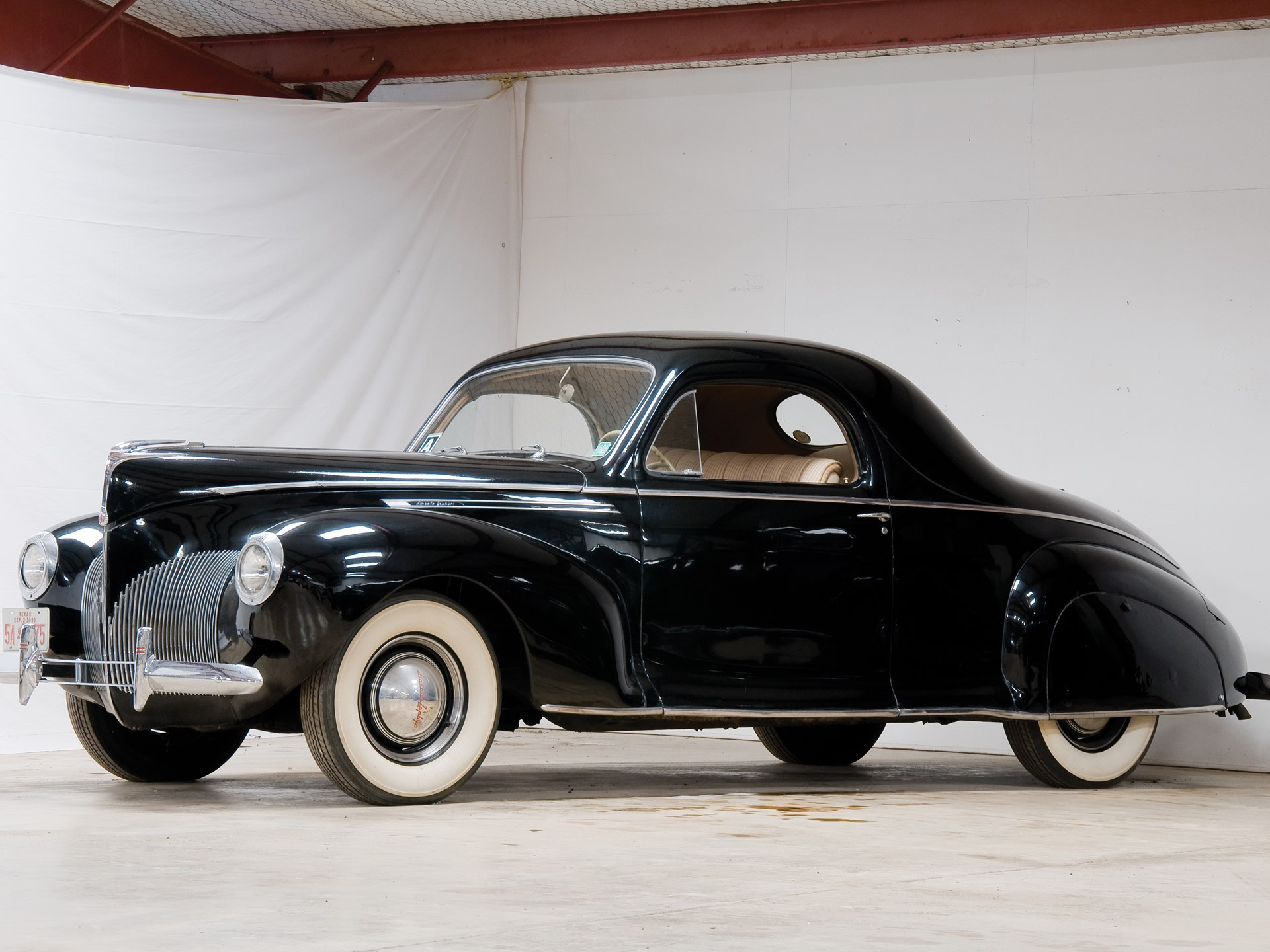 Rm Sotheby S 1940 Lincoln Zephyr Coupe The Pate Collection 2010