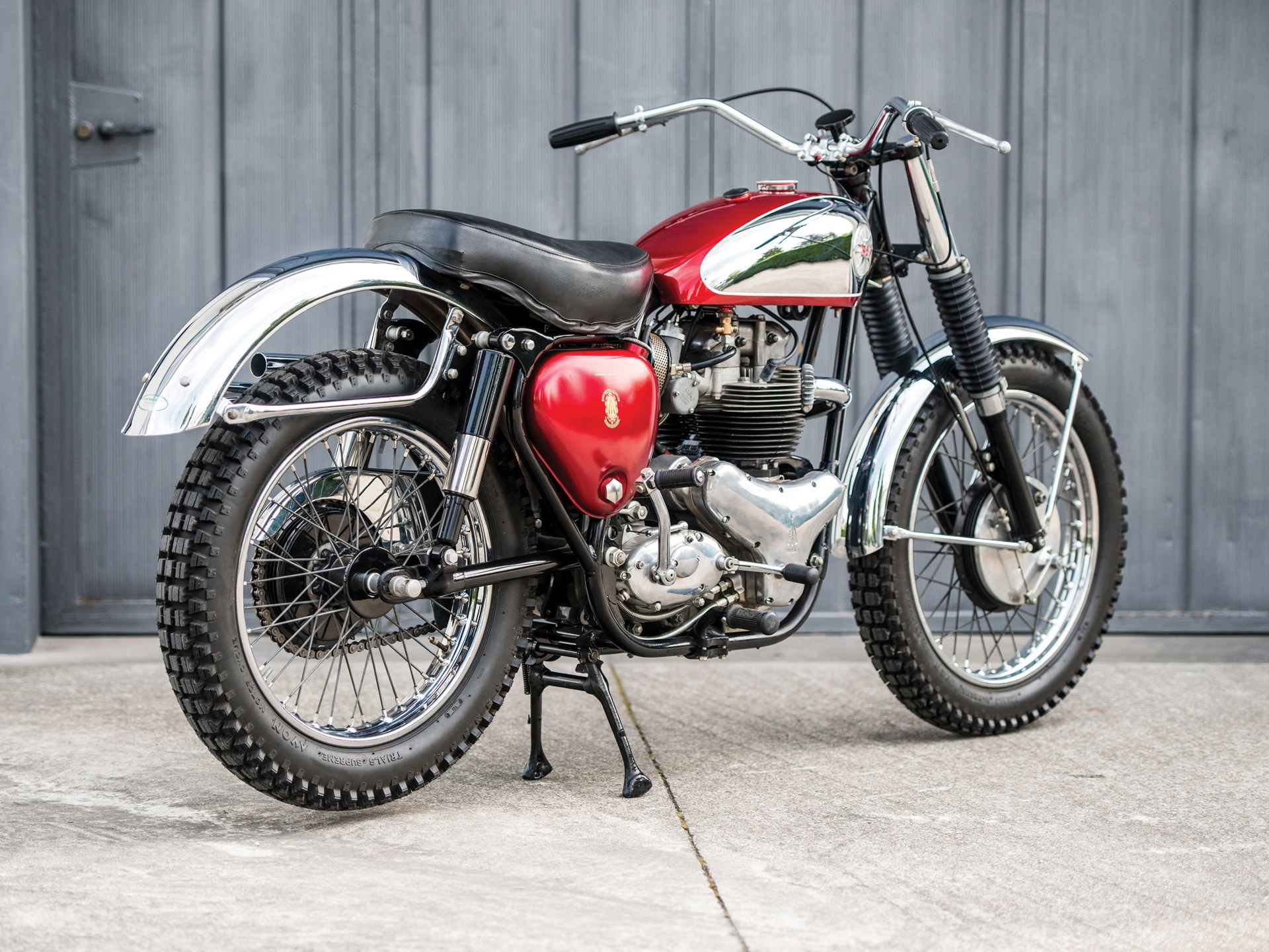 1962 BSA A10 Rocket Gold Star Scrambler
