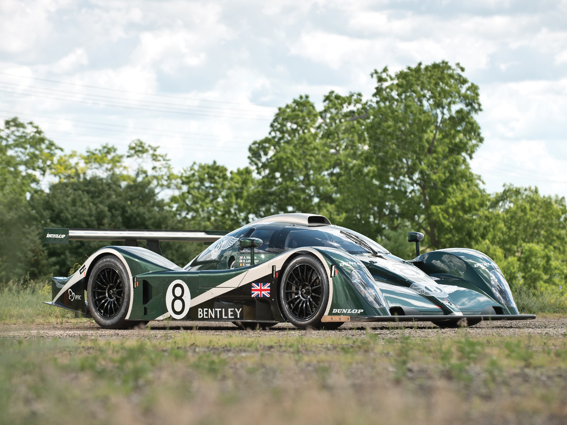 rm sotheby's - 2001 bentley speed 8 le mans prototype racing car