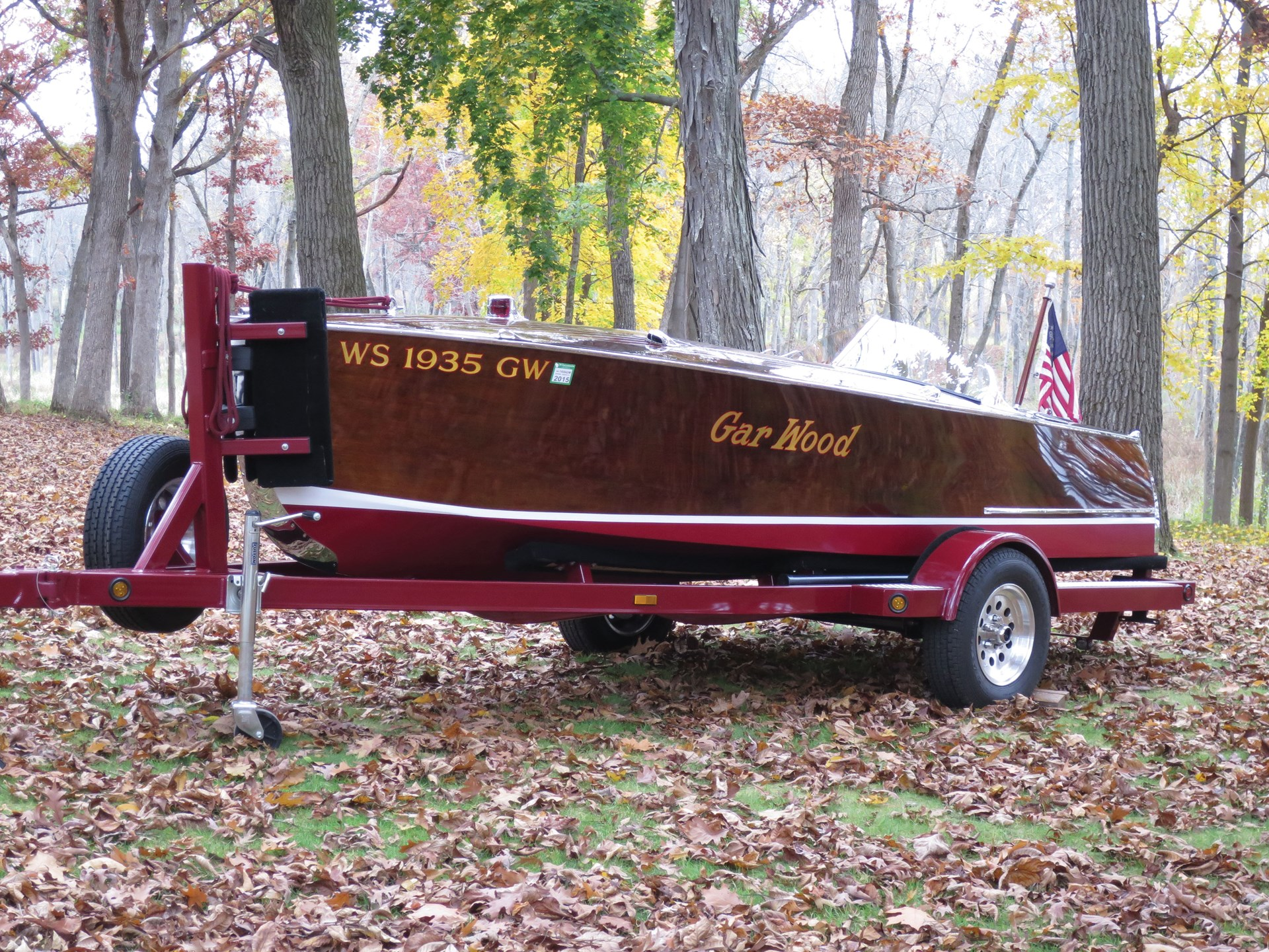 "1935 Gar Wood 16-Foot Speedster - ""Miss Conduct"""