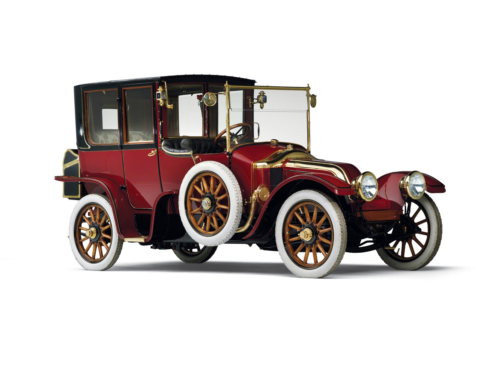 1912 renault type cb coupe de ville
