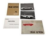 Ferrari 365 GTC/4 Owner's Manual Set - $