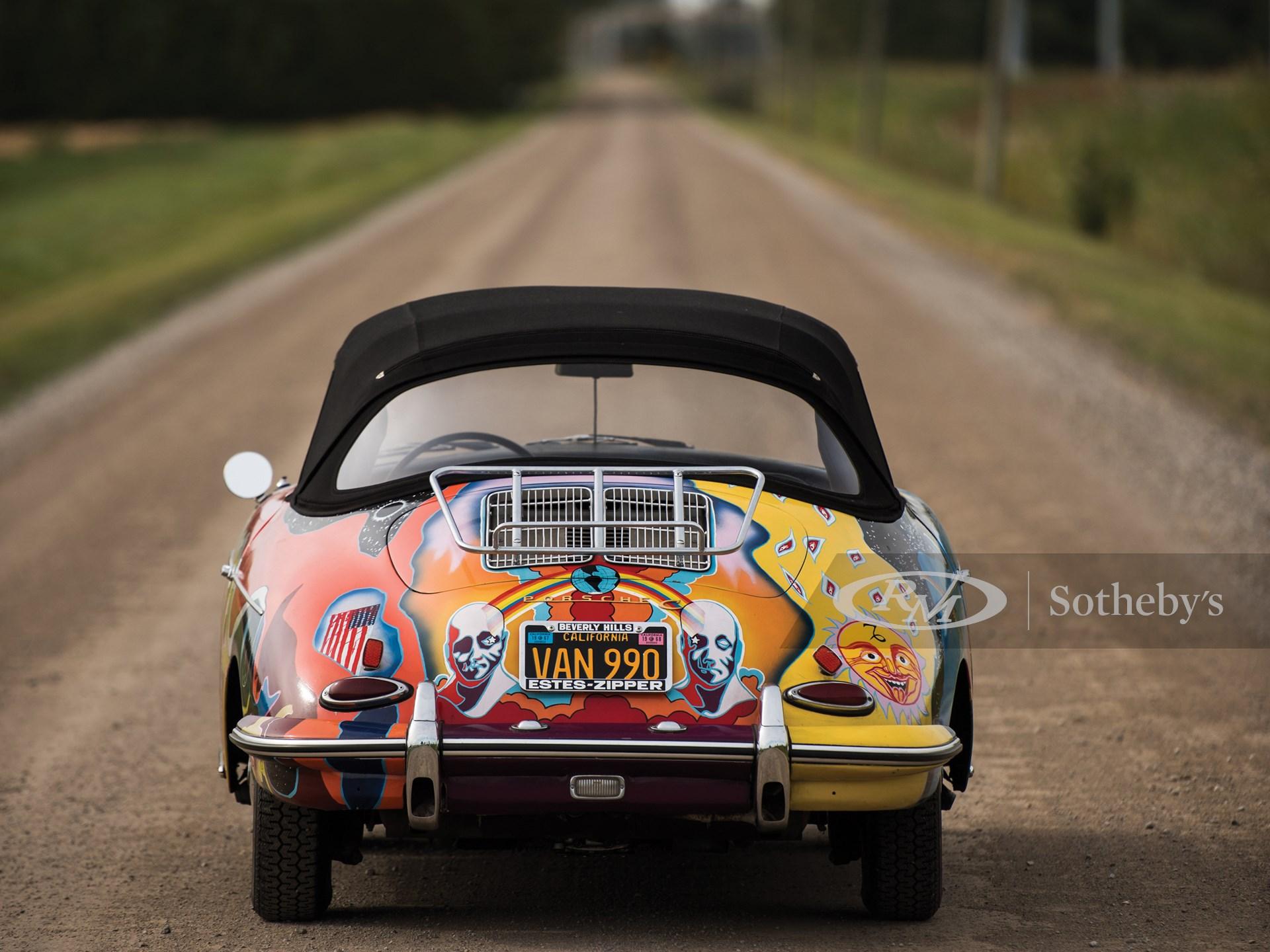 1964 Porsche 356 C 1600 SC Cabriolet by Reutter -
