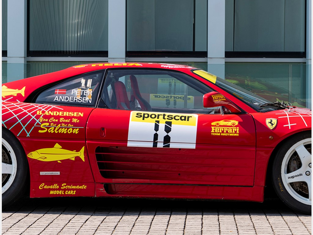 1994 Ferrari 348 GT Michelotto Competizione available at RM Sothebys Milan Live Auction 2021