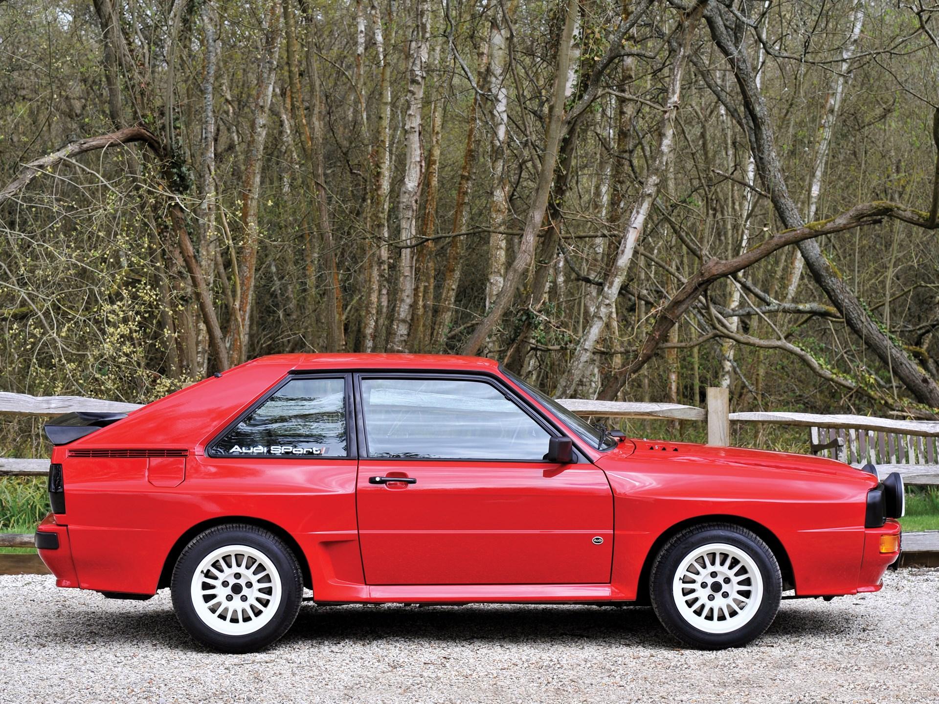 Audi Sport Quattro >> Rm Sotheby S 1986 Audi Sport Quattro London 2016