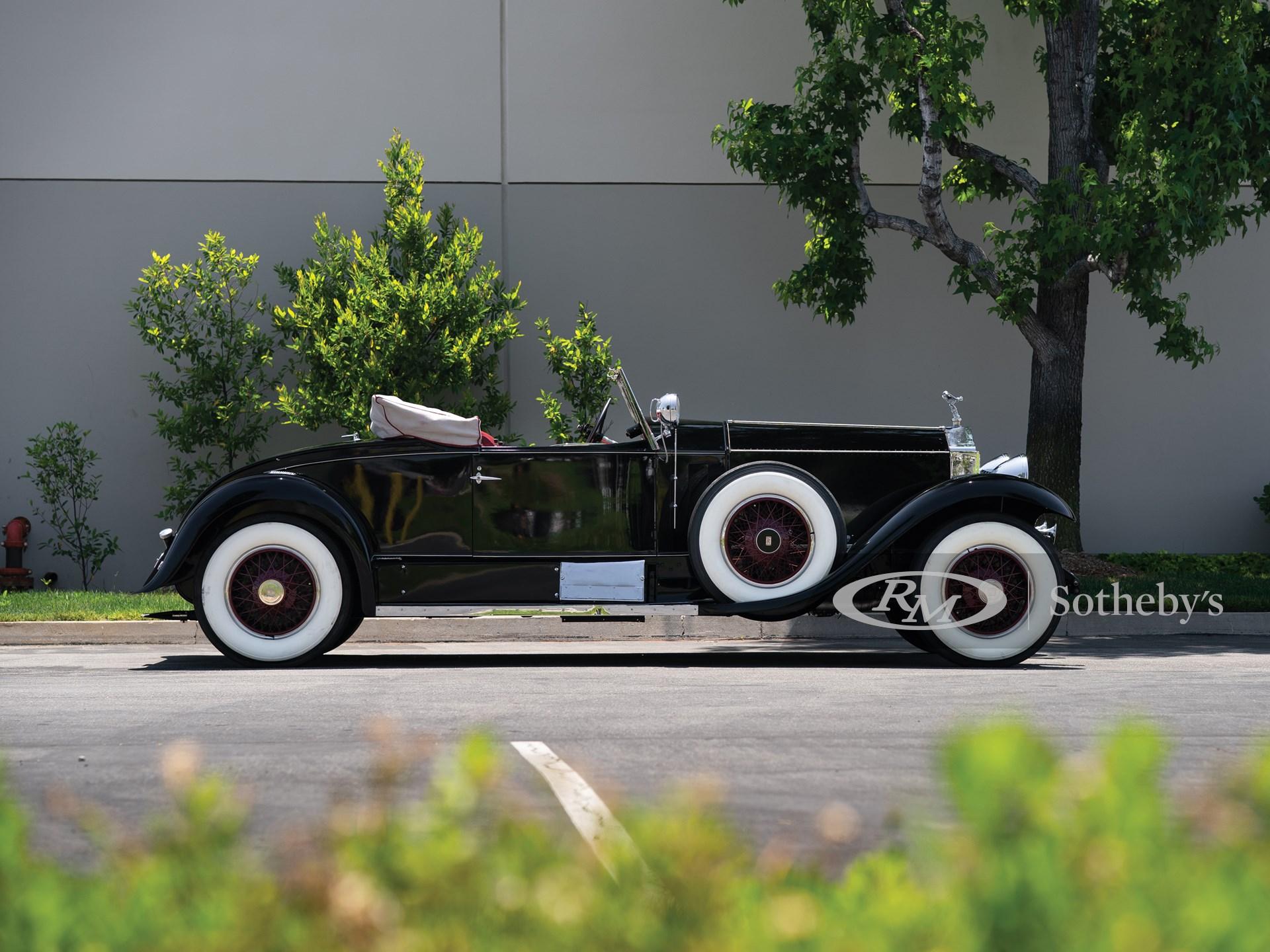 1927 Rolls-Royce Phantom I Playboy Roadster by Brewster -