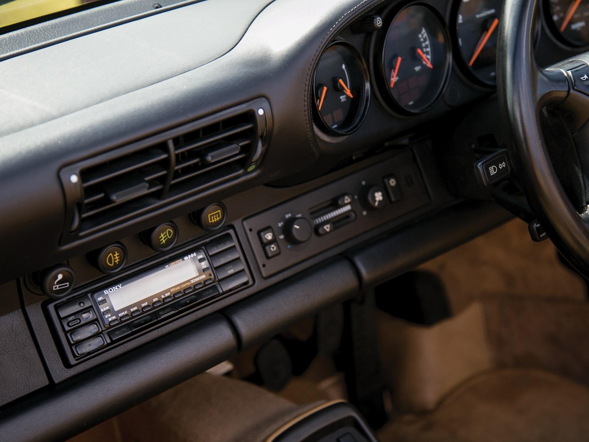 1993 Porsche 911 Turbo Cabriolet