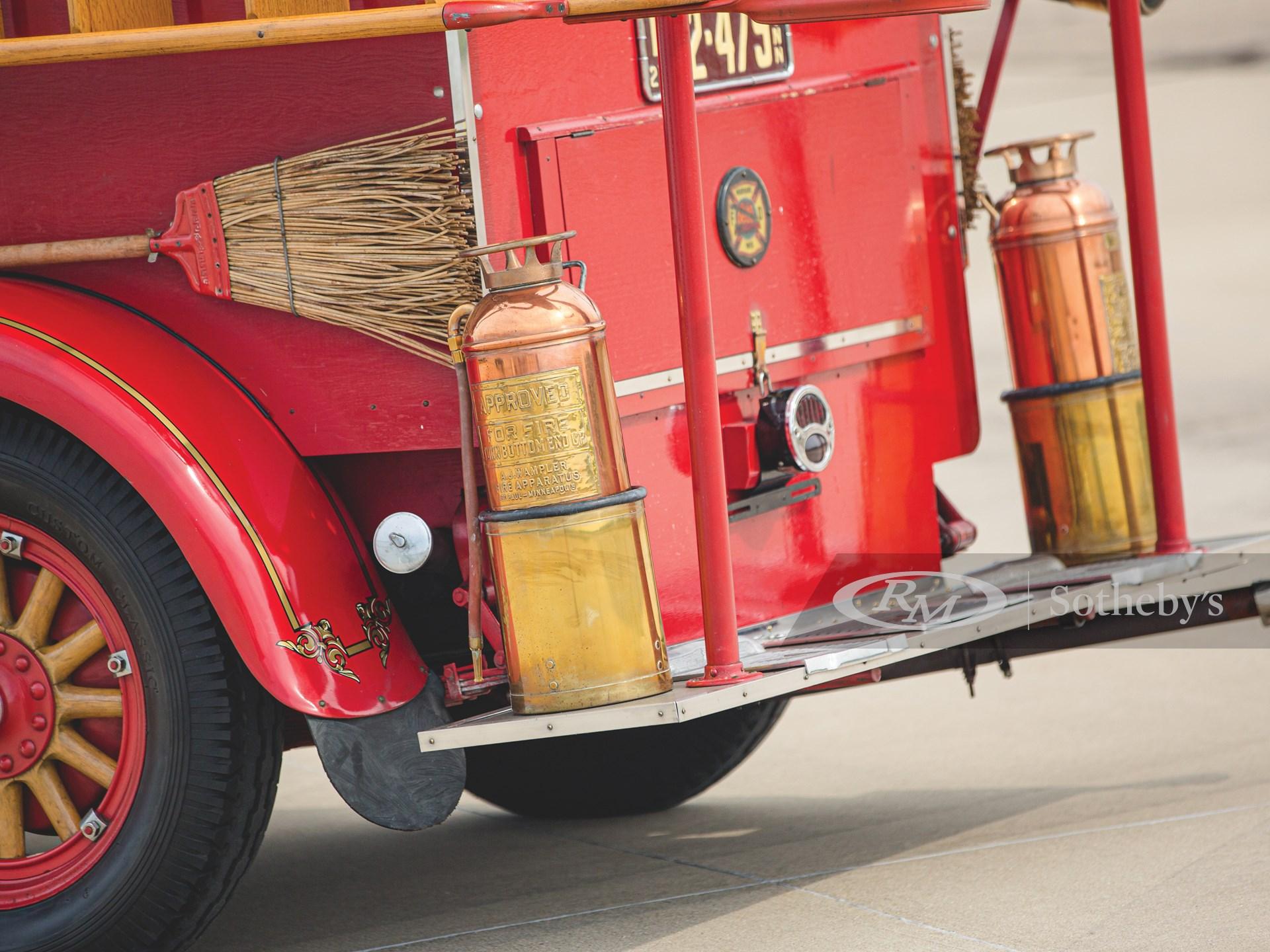 1927 Hudson Model O Super Six Fire Truck  -