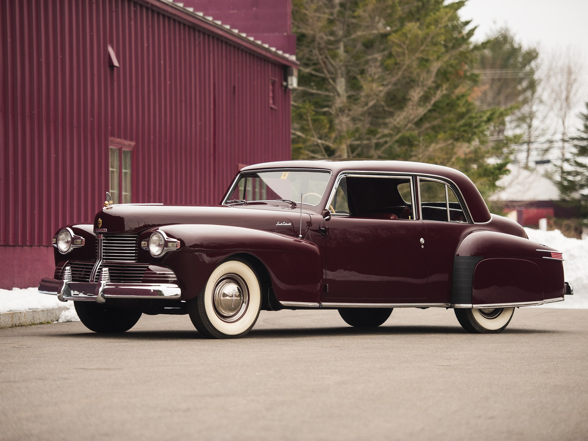 Rm Sotheby S 1942 Lincoln Continental Club Coupe The Dingman