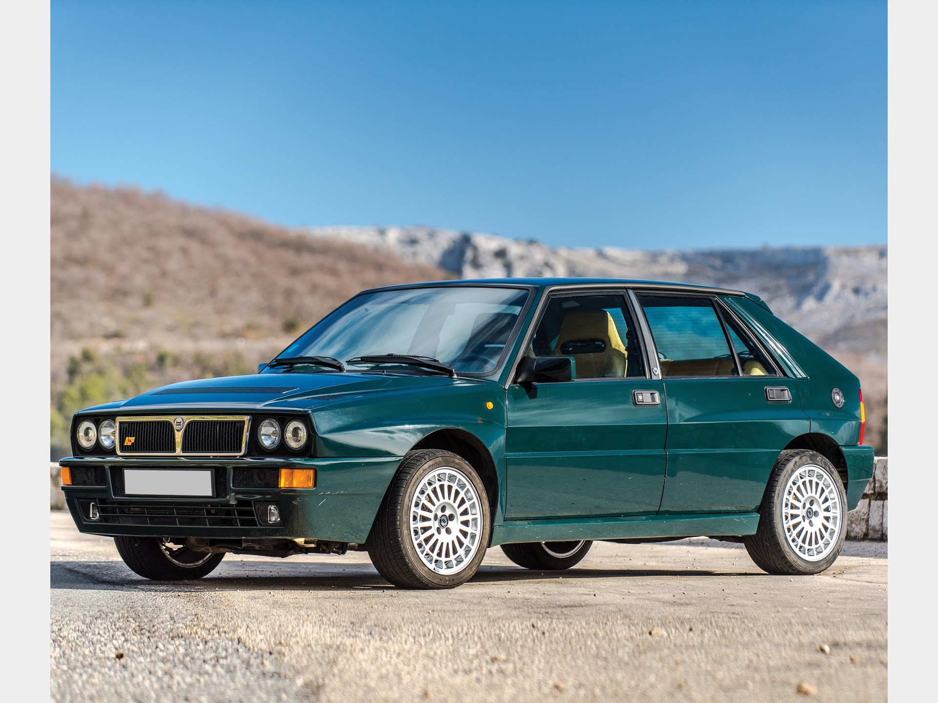 rm sotheby 39 s 1992 lancia delta hf integrale evoluzione 39 verde york 39 monaco 2018. Black Bedroom Furniture Sets. Home Design Ideas