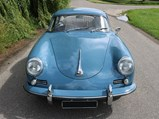 1961 Porsche 356 B Super 90 Coupé by Reutter - $