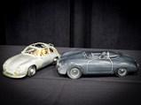 Two Ceramic Porsche Sculptures  - $