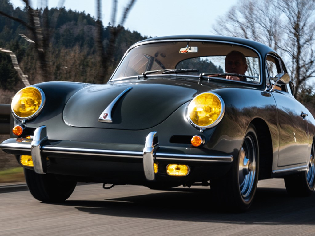 1962 Porsche 356 B Carrera 2 Coupe by Reutter offered at RM Sothebys Online Only Open Roads March Auction 2021