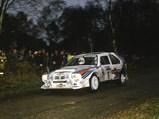 1985 Lancia Delta S4 Rally  - $Henri Toivonen en route to an overall win at the 1985 Lombard RAC Rally.