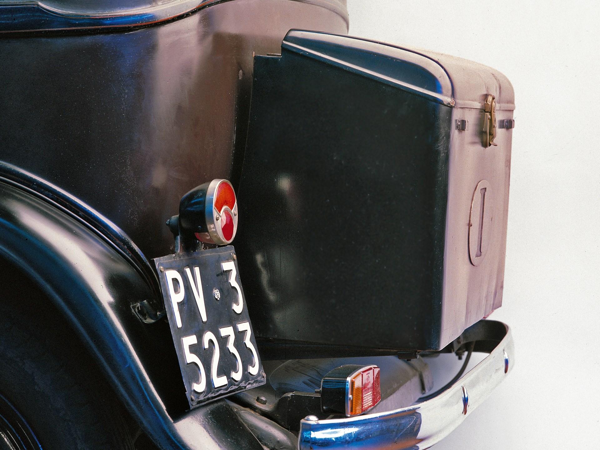 1932 Fiat 508 'Balilla' Berlina