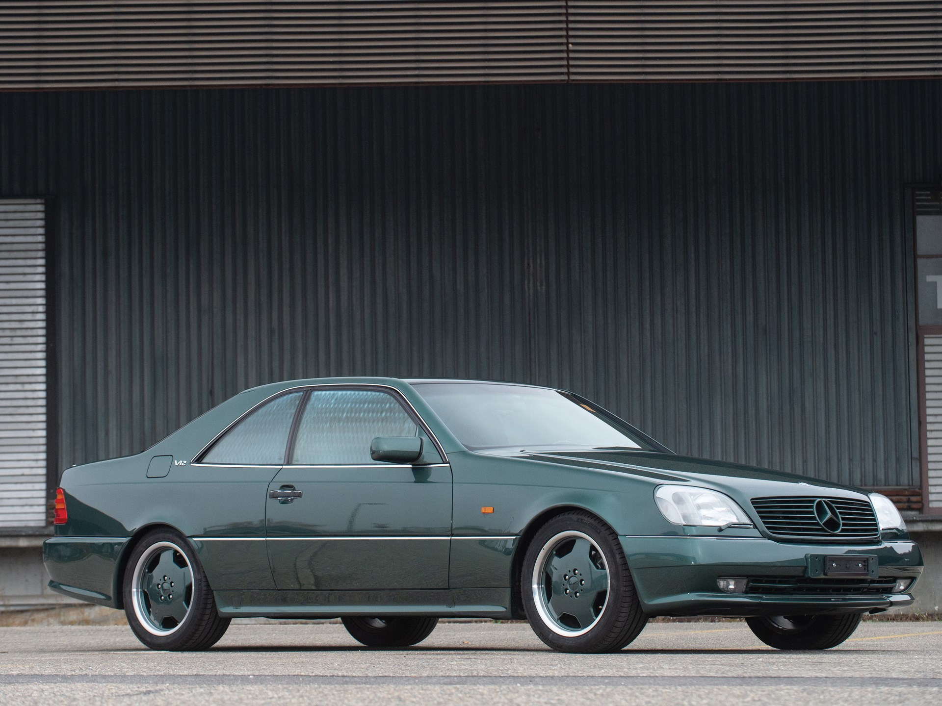 1996 Mercedes Benz S 600 Amg