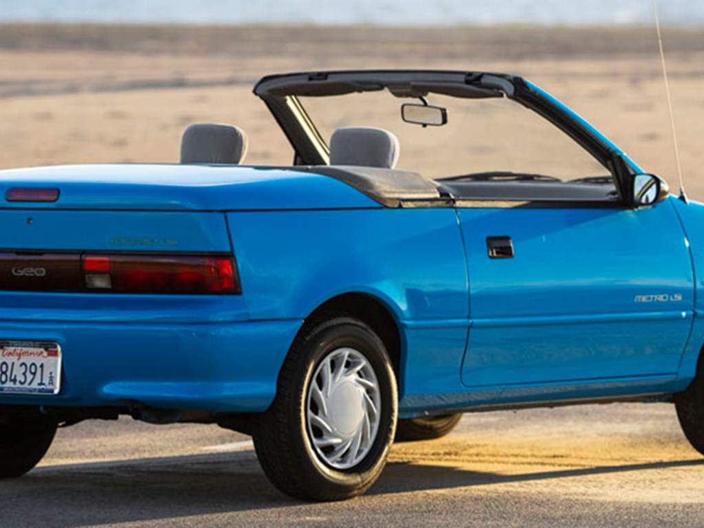 1992 Geo Metro Convertible offered at RM Sothebys Online Only Handle With Fun Auction 2021