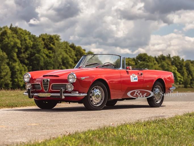 1963 Alfa Romeo 2600 Spider | RM Sotheby's | Photo: @vconceptsllc | Teddy Pieper