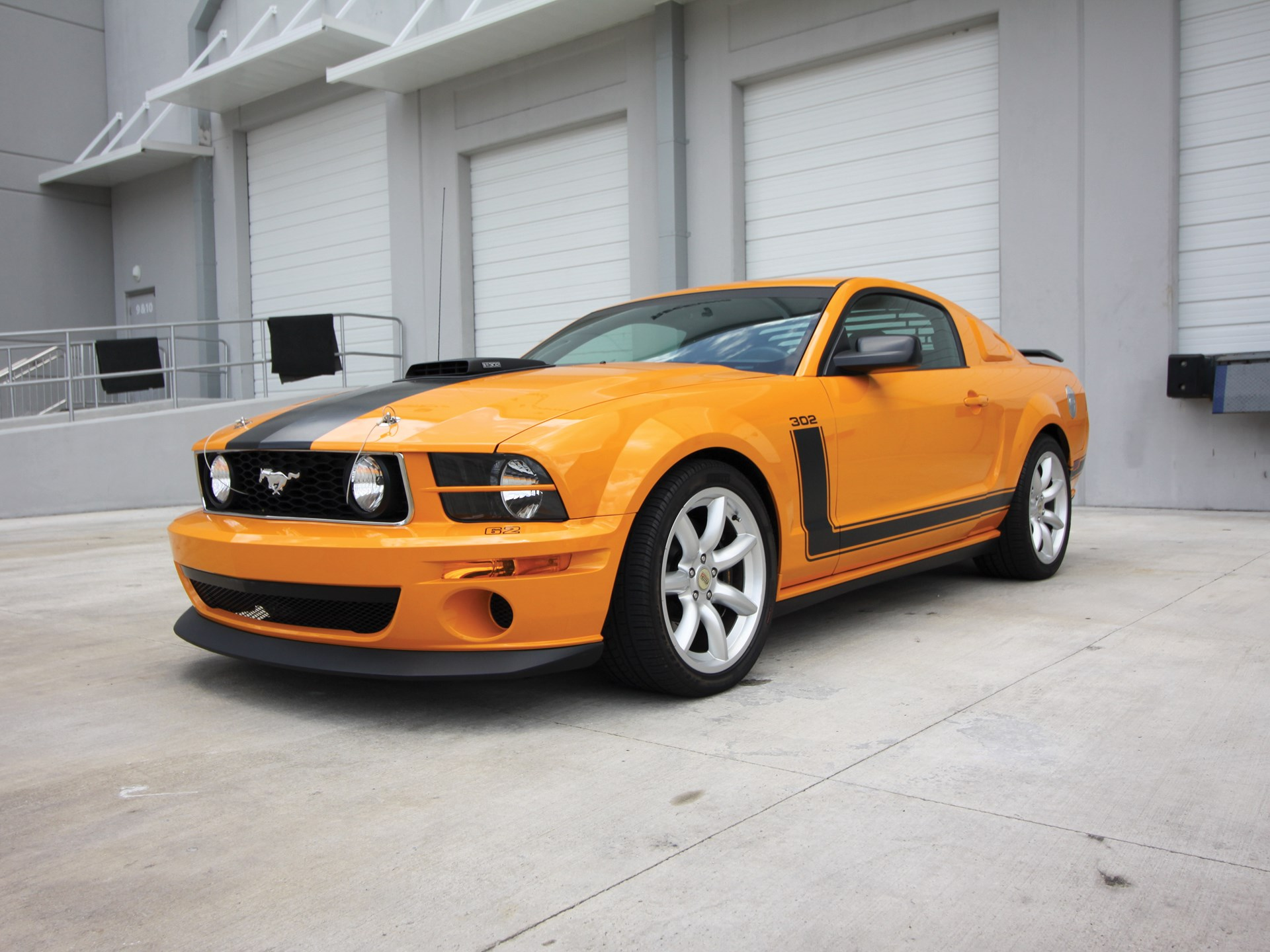 Rm sothebys 2007 ford mustang saleen boss 302 parnelli jones