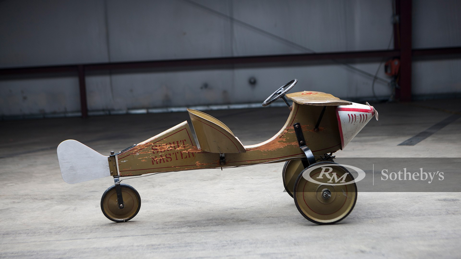 Online Only: Pedal Power, 1929 Scout Airplane by Sidway-Topliff