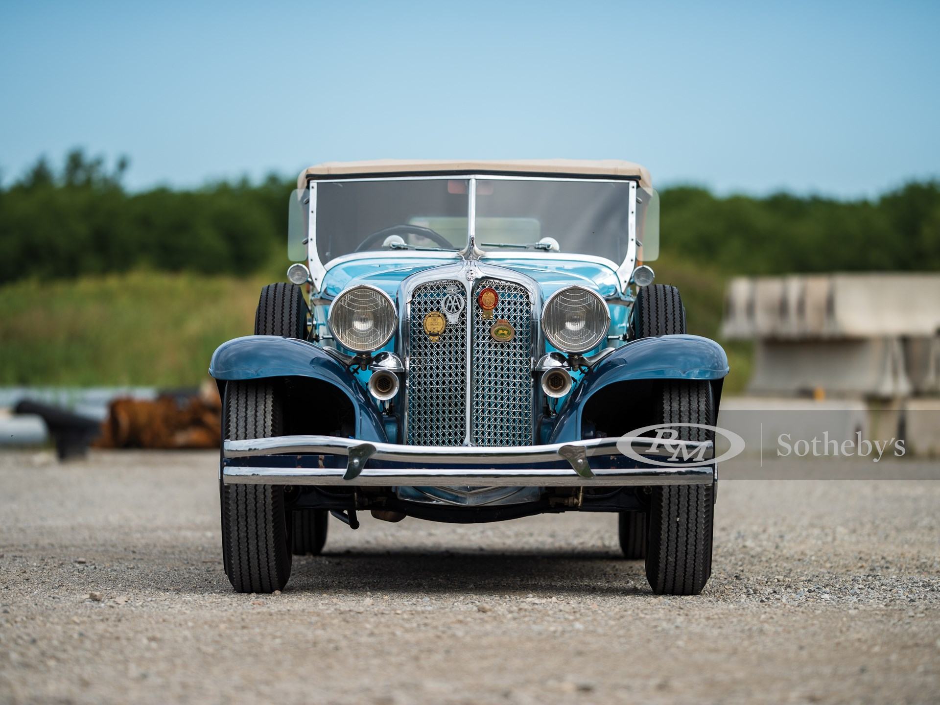 1931 Chrysler CG Imperial Dual-Cowl Phaeton in the style of LeBaron -