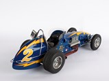 Johnny Lightning Indianapolis 1:8 Scale Model by John Snowberger - $