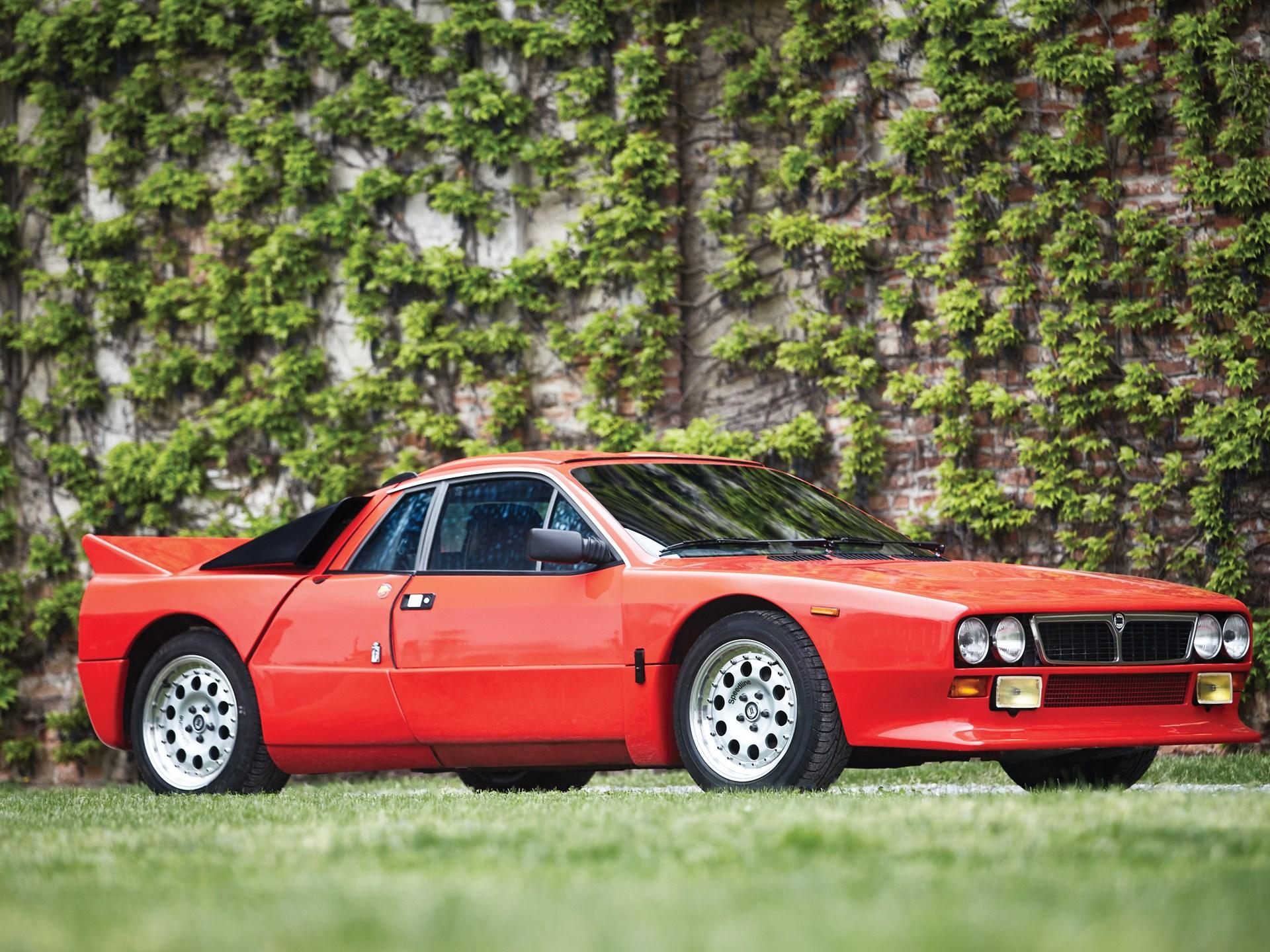 rm sotheby's - 1982 lancia rally 037 stradale | monaco 2016