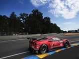 2016 Ferrari 488 GTE  - $Chassis number 4208 at speed during the 2017 24 Hours of Le Mans.