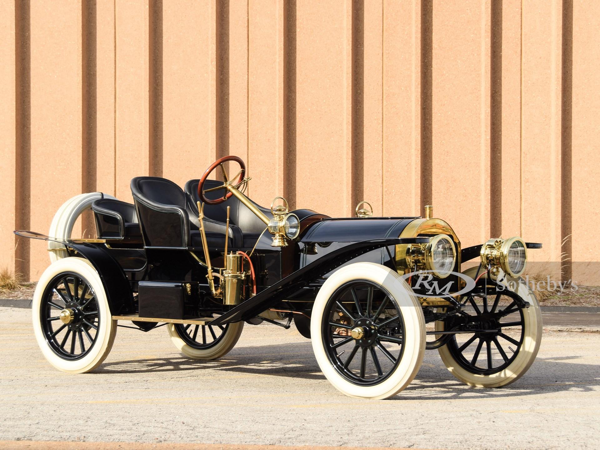 1907 Stoddard-Dayton Model K Runabout   Amelia Island 2019 ...